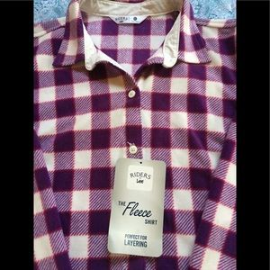 Riders by Lee XL Soft Flannel Long Sleeve NWT